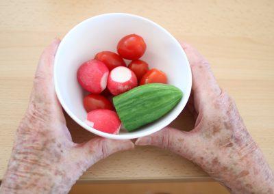 Gemüse-Ernte